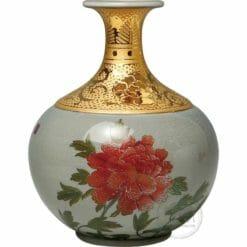 臺華窯花瓶 - 刺繡花 0110001061