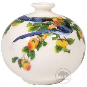 臺華窯花瓶 - 萬事如意(藍鵲) 0110006113
