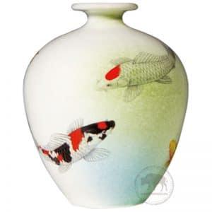 臺華窯花瓶 - 錦鯉 0110006399