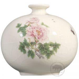 臺華窯花瓶 - 牡丹迎春 0110006931