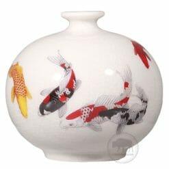 台華窯花瓶 - 錦鯉 0110006932