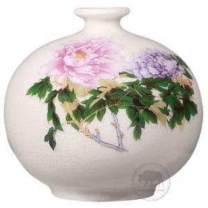 台華窯花瓶 - 富貴牡丹 0110006946