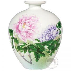 臺華窯花瓶 - 富貴牡丹 0110007089