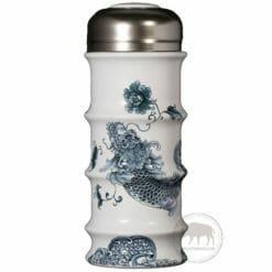 臺華窯保溫杯 - 青花龍魚 0920001315