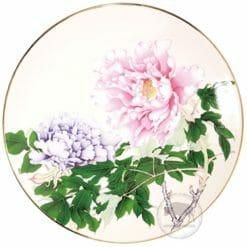 台華窯轉寫盤 - 奼紫嫣紅富貴春滿 1510002103