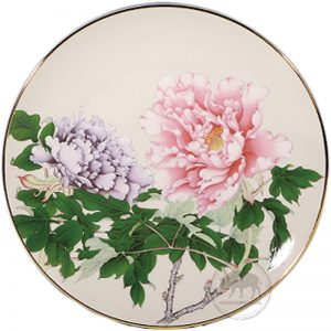 臺華窯轉寫盤 - 奼紫嫣紅富貴春滿 1510002117