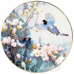 臺華窯轉寫盤 - 凝香含玉喜從天降 1510002124