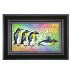 20A218-08 鑰匙盒企鵝