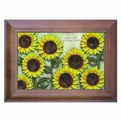 20A221-07 壁掛鑰匙盒向日葵