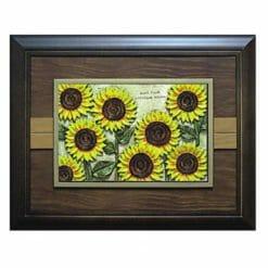 20A222-07 壁掛式鑰匙盒向日葵