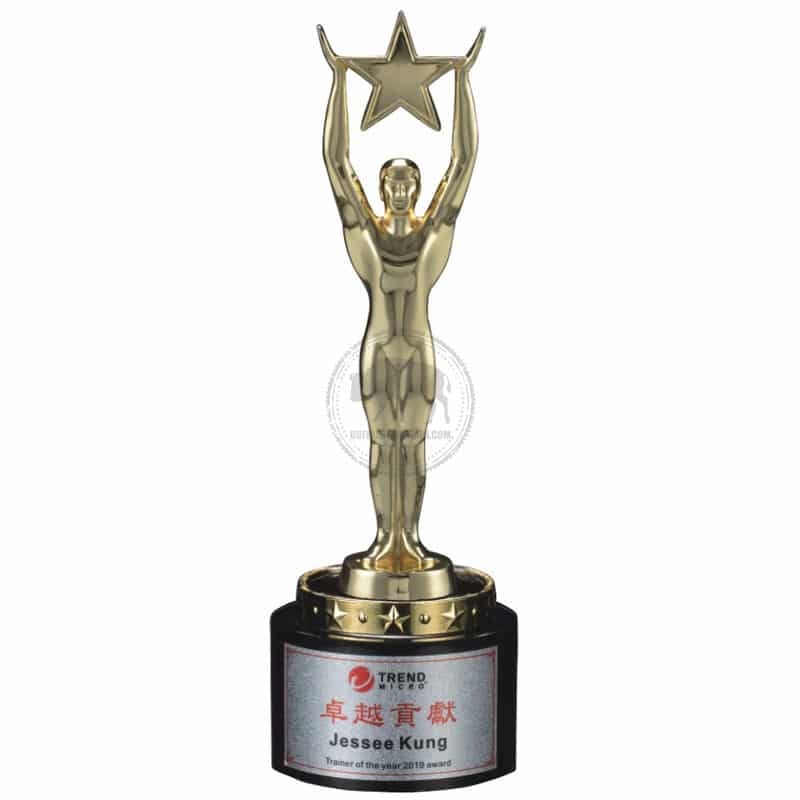 YC-591-01 Black Crystal Awards