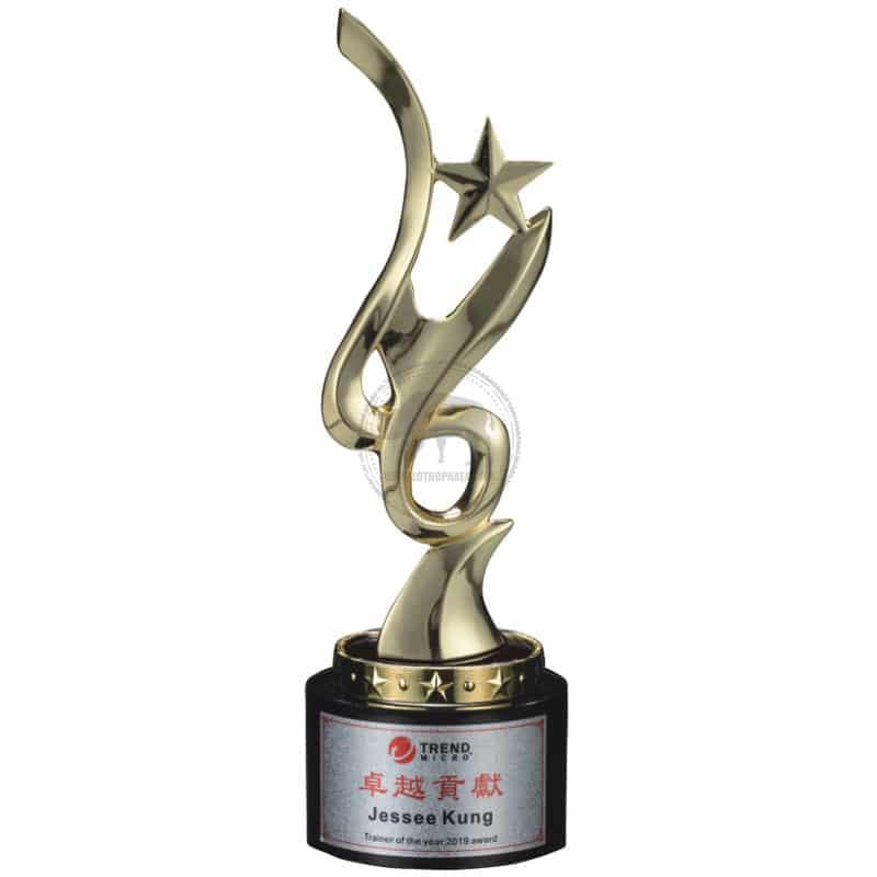 YC-591-02 Black Crystal Awards