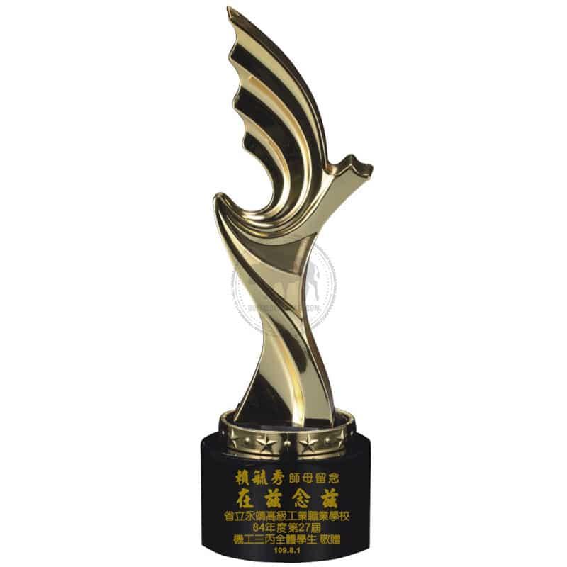 YC-591-04 Black Crystal Awards