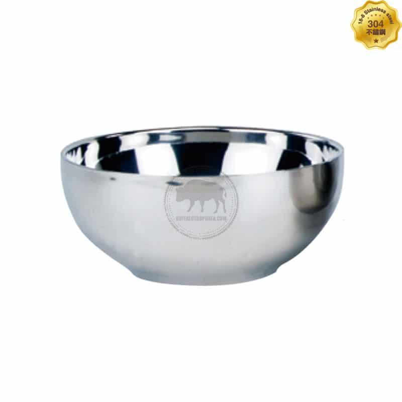 XY-19BXG-155 不鏽鋼雙層碗(15.5cm)